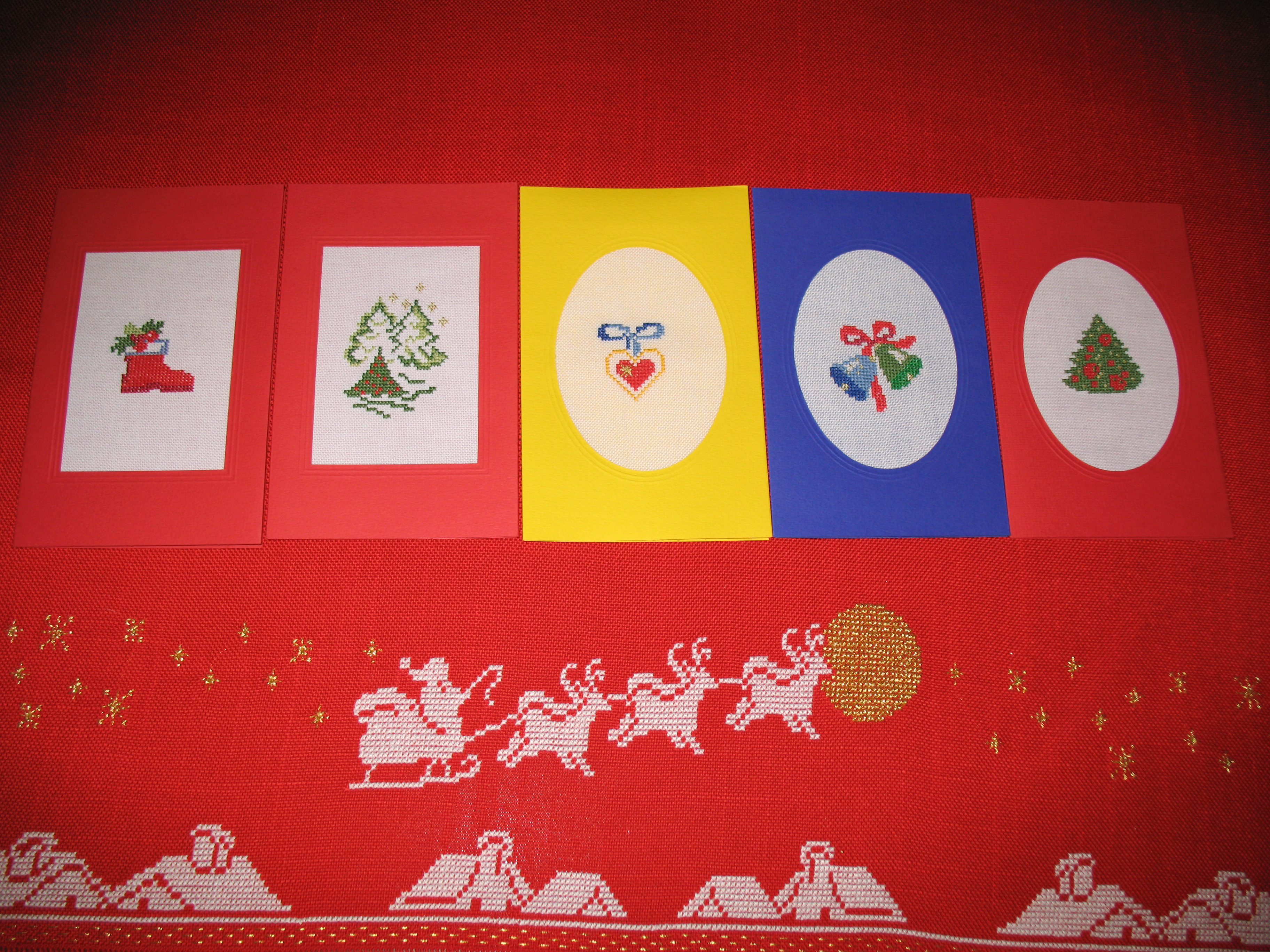 Biglietti Di Natale A Punto Croce.Biglietti Di Natale Dall Album Di Barbara69