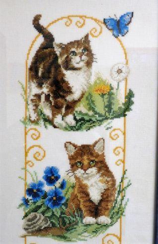 Particolare quadro gatti 1