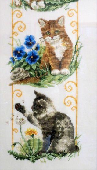 Particolare quadro gatti