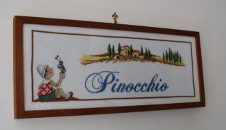 Quadro di Pinocchio con Grillo Parlante 2