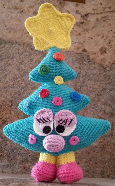 Albero di Natale ad amigurumi