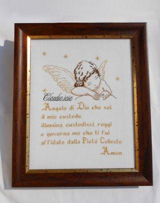 Angioletto con preghiera_incorniciato_2