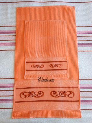 Asciugamani Salmone Lisa_1