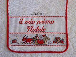 Bavaglino per Giovanni_Il mio primo Natale_2