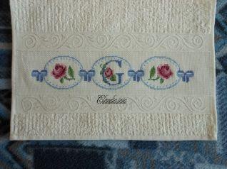 Coppia asciugamani avorio - Giulia _2