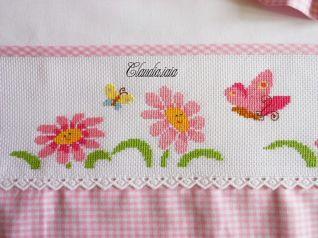 Lenzuolino Fiori e Farfalle_2