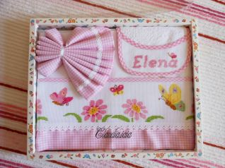 Set Elena_bavaglino e lenzuolino