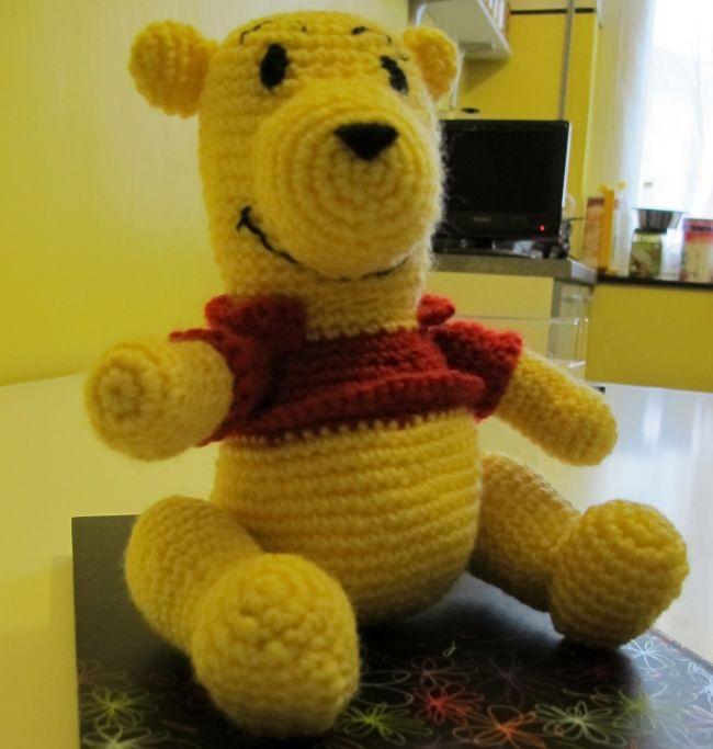 Amigurumi Winnie The Pooh : Winnie the pooh - amigurumi - Dallalbum di Cokye