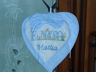 fiocco nascita Mattia