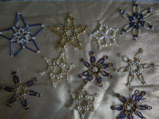 stelle in perline