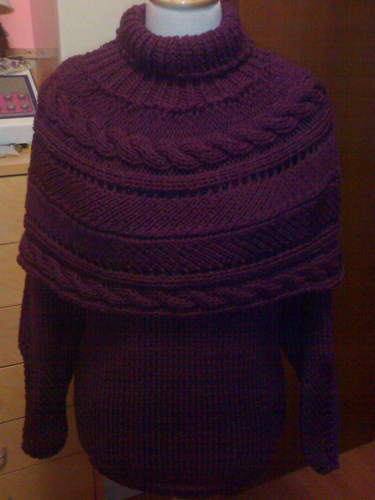 - maglione-viola-mantellina
