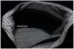 Borsa jeans 'Phobe bag' - interno