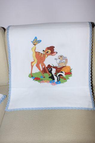 copertina carrozzina Bambi e amici