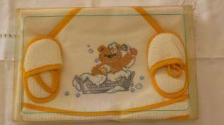 Accappatoio orsetto giallo