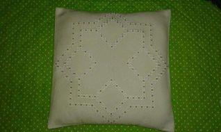 Cuscino stella hardanger 1