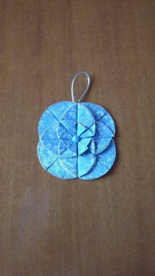 Decori origami azzurri 2