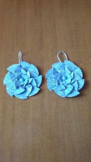 Decori origami azzurri1
