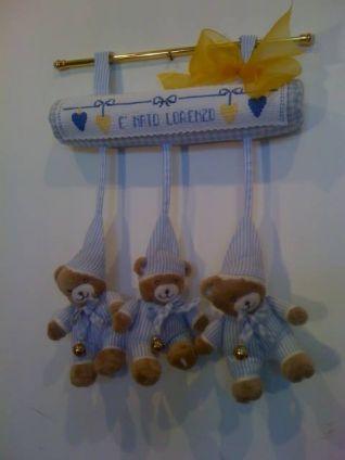 fiocco nascita orsetti lorenzo