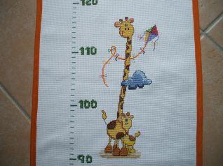 metro - particolare giraffe