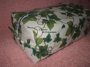 Pochette grande edera - lato
