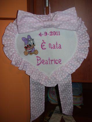 Fiocco nascita di Beatrice