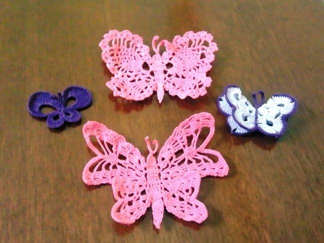 uncinetto farfalle uncinetto uncinetto per bambini lavori ad uncinetto