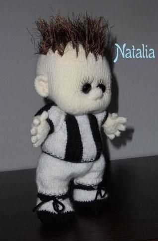 baby calciatore Juve - foto