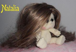 Bambola a maglia  - foto