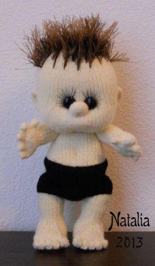 Bambola a maglia - nr. 6