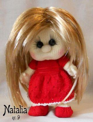 Bambola a maglia - nr. 9