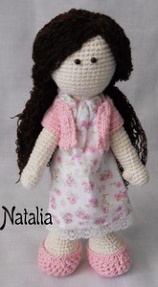 Bambola - uncinetto
