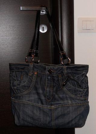 borsa in jeans II b