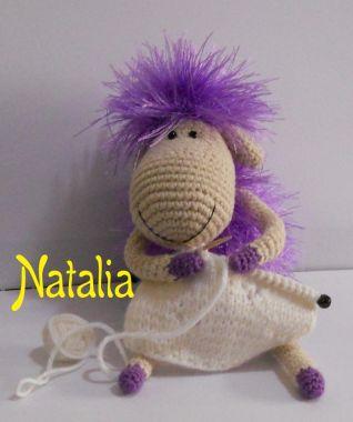 Pecorella-magliaia - 12 cm