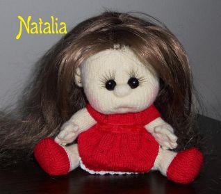 vestito rosso per la bambola