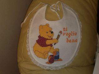 Winnie The Pooh bavaglino
