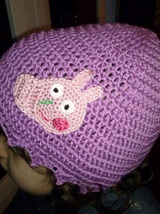 berretto peppa pig