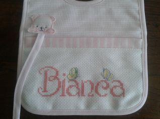Bavaglino Bianca part.