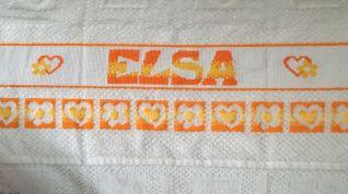 Elsa giallo e arancio