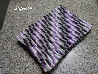 Sciarpa con la lana pon pon 3