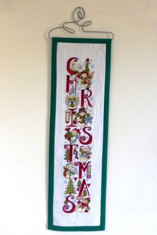 Christmas Snowfriends Banner