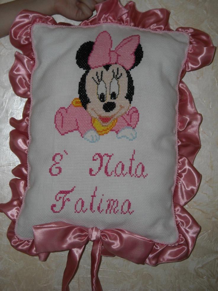 Favoloso Fiocco nascita baby Minnie - Dall'album di Winnie88 CX03