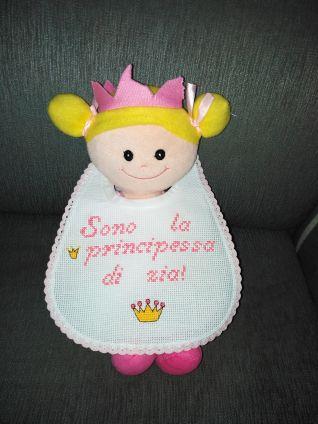 Bavaglino - sono la principessa di zia