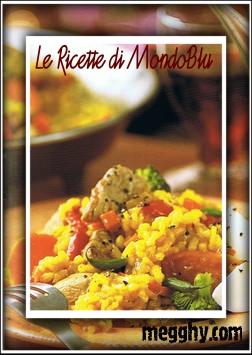 Paella con carne e verdure