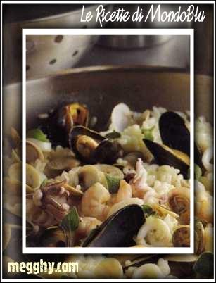 Risotto ai frutti di mare alla genovese