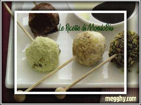 Risvegliare i cinque sensi a tavola: Gusto, Chupa chups di gelato