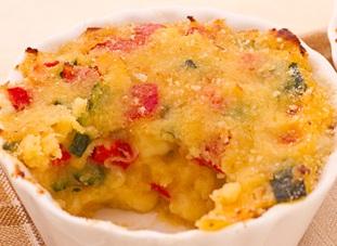 Tortini di riso verde