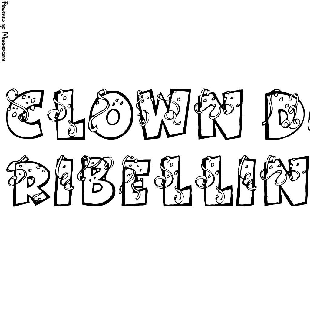Disegno Per Bambini Clown Dottore 4526 Da Stampare E Colorare