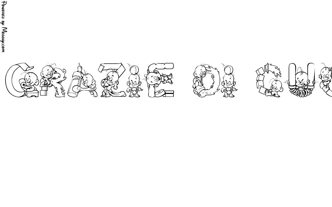 Disegno Per Bambini Grazie Di Cuore Chiara 6054 Da Stampare E Colorare