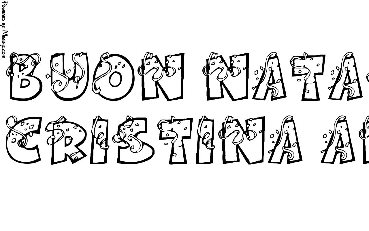 Buon Natale Da Stampare.Disegno Per Bambini Buon Natale Da 6182 Da Stampare E Colorare