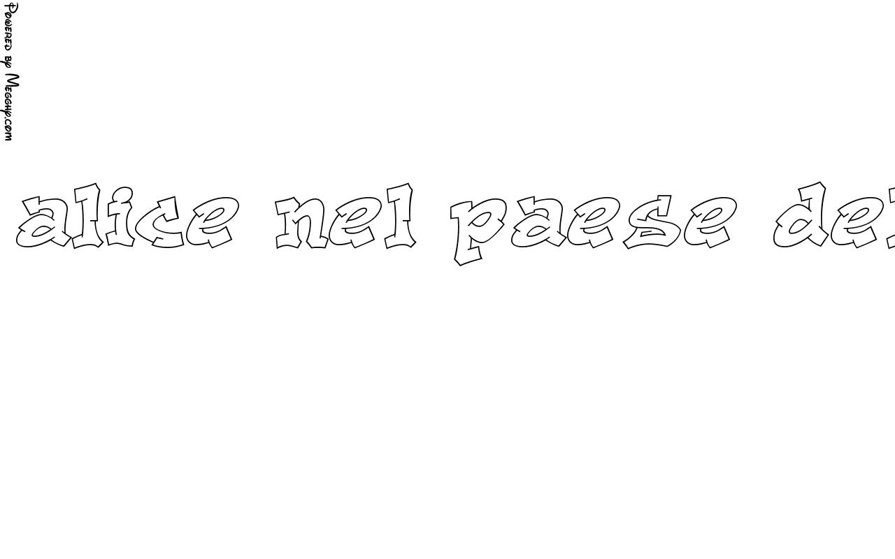 Disegno Per Bambini Alice Nel Paese Delle Meraviglie 9961 Da